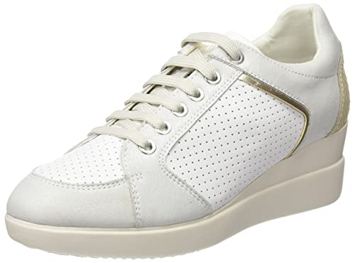 c567004bf846 Geox D STARDUST B, Women's Sports and Outdoor shoes, White (White C1000)