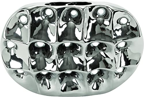 Deco 79 71667 Ceramic Vase, 16 x 11