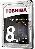 Toshiba X300 Desktop 3.5 Inch SATA 6Gb/s 7200rpm Internal Hard Drive 8 TB