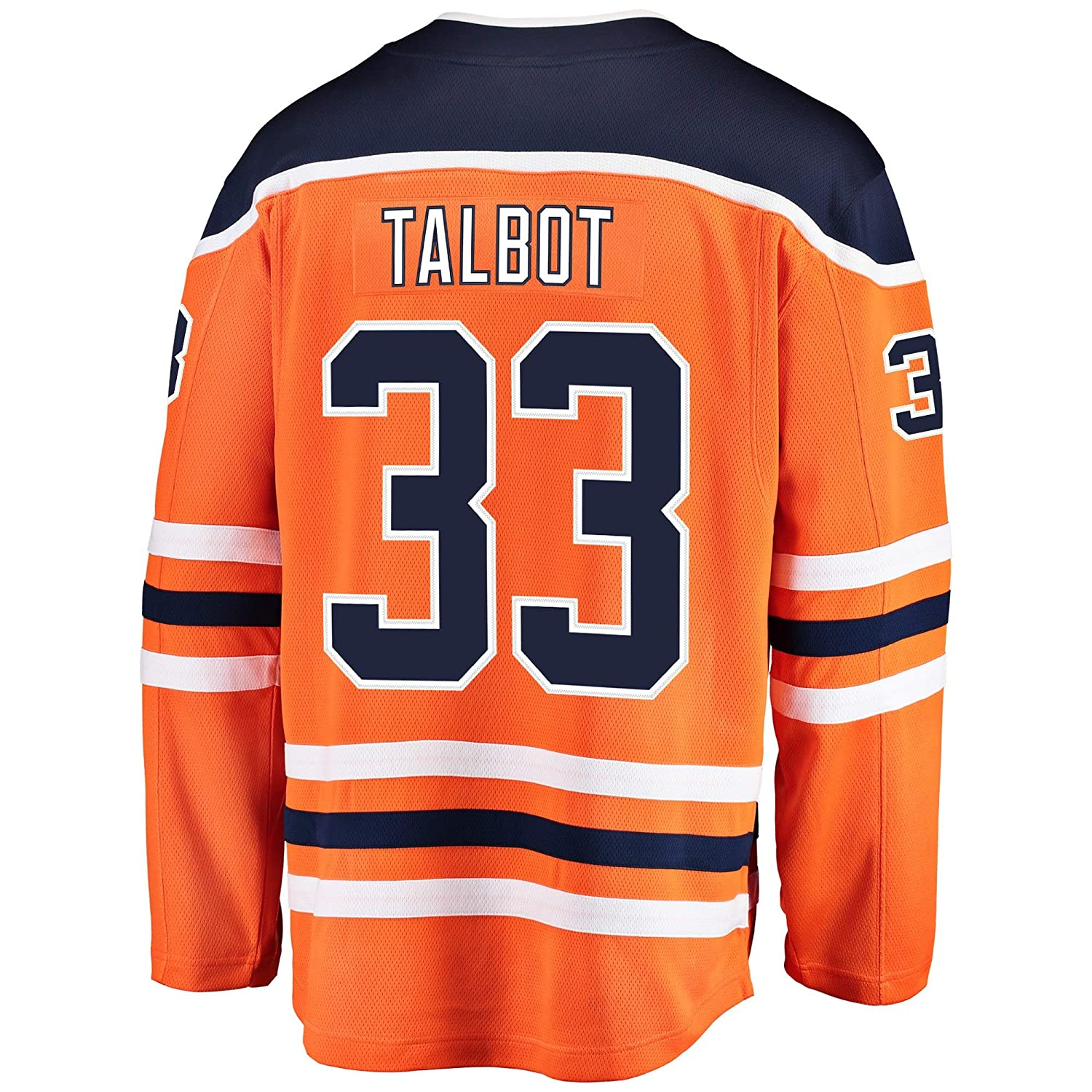 new product e9ce5 79bac Amazon.com: Cam Talbot Edmonton Oilers Orange Youth Home ...