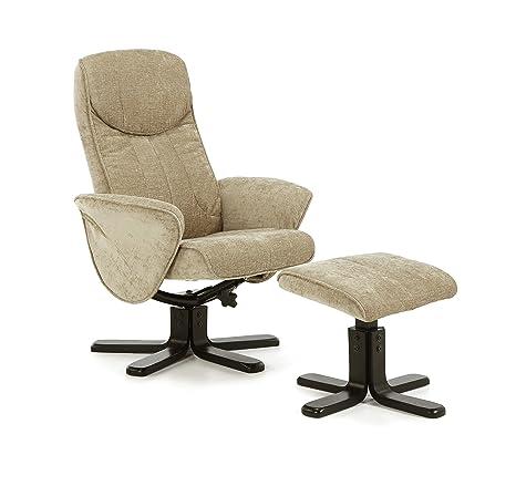 Tejido de poliéster Stavern giratoria y reclinable silla con ...
