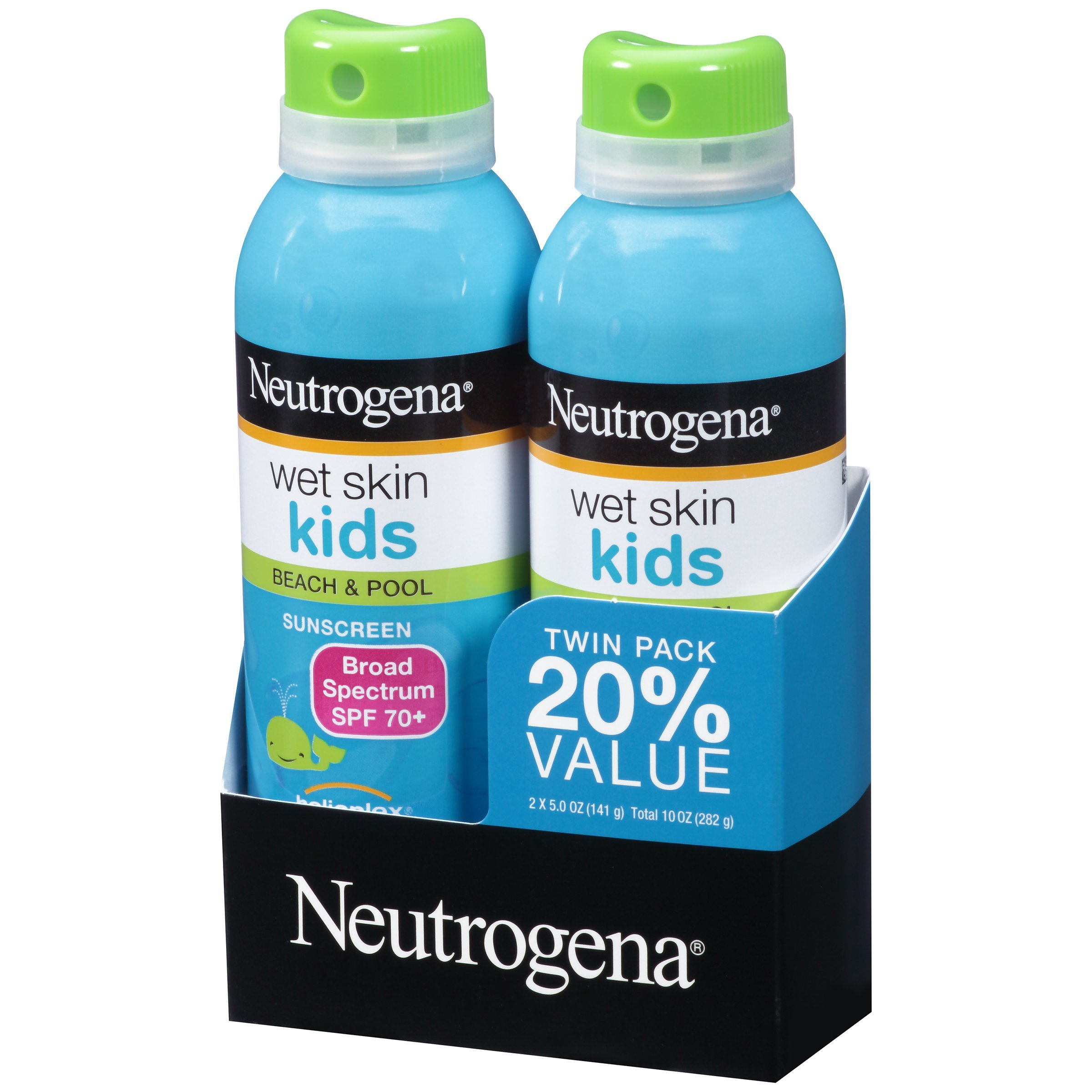 Neutrogena Wet Skin Kids Sunscreen Spray, Twin Pack by Neutrogena (Image #2)