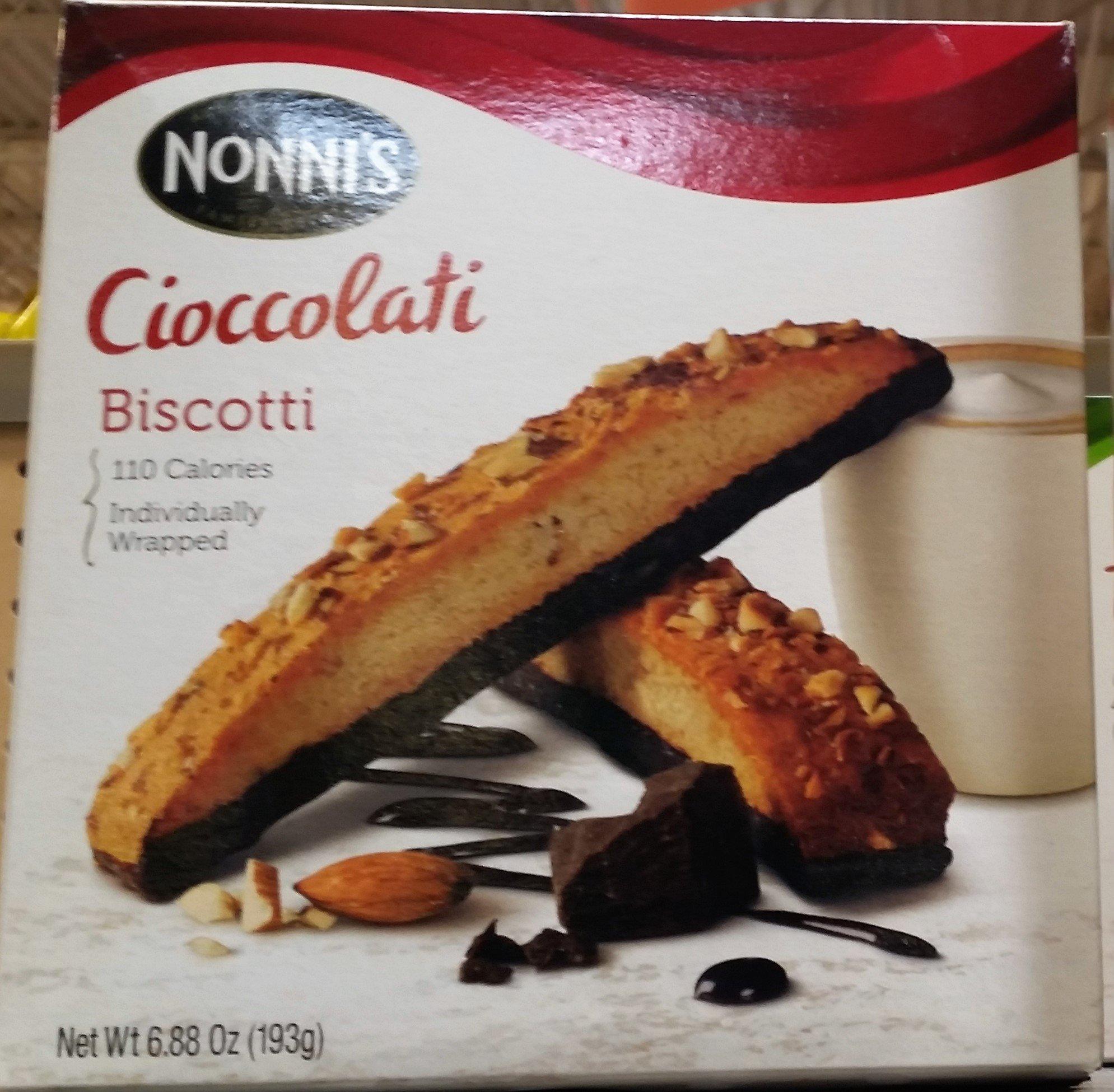 Nonni's Cioccolati Biscotti 6.88 oz (Pack of 3)