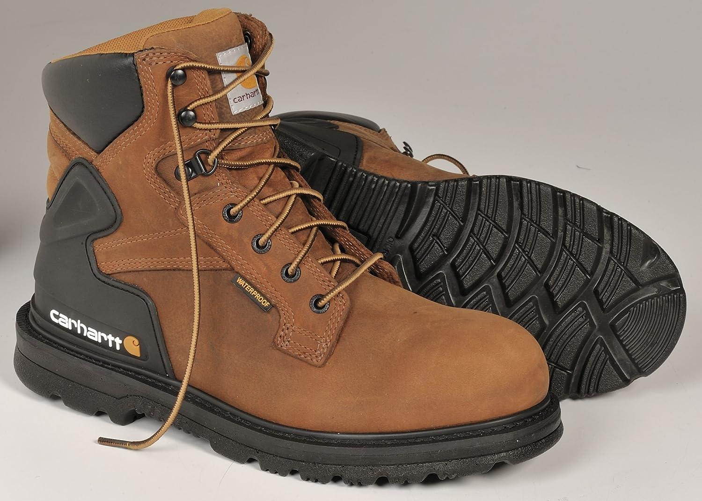 4e9211c6282 Amazon.com: Carhartt - CMW6220 105M - 6H Men's Boots, Steel Toe Type ...