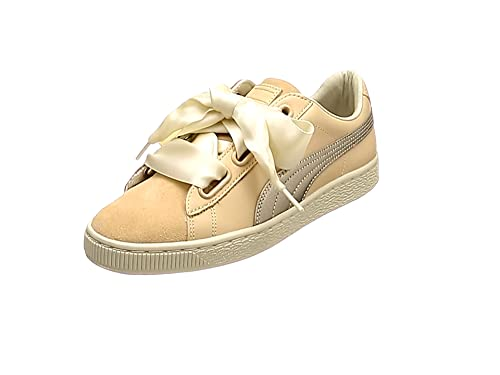 Puma Basket Heart Up Mujer Zapatillas Natural