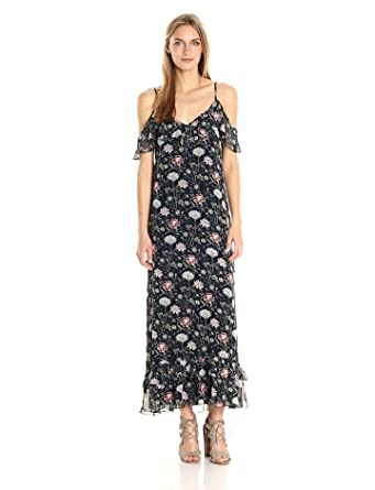e5e1431e3651 MAX STUDIO Women s Printed Maxi Dress at Amazon Women s Clothing store
