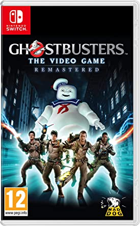 Amazon Com Ghostbusters The Video Game Remastered Nintendo Switch Video Games
