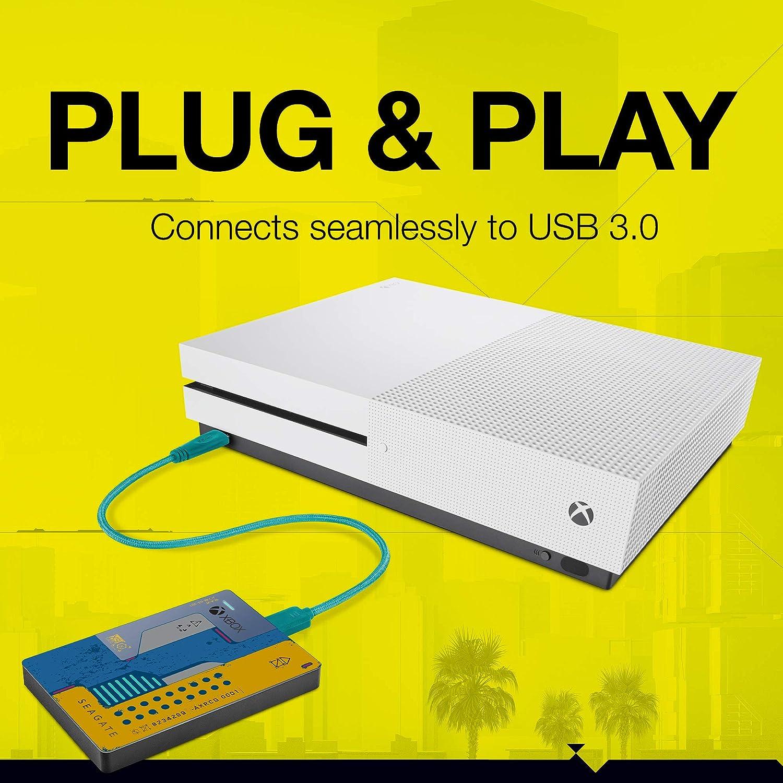 Seagate presenta el Xbox Game Drive de Cyberpunk 2077 a juego con la consola 3