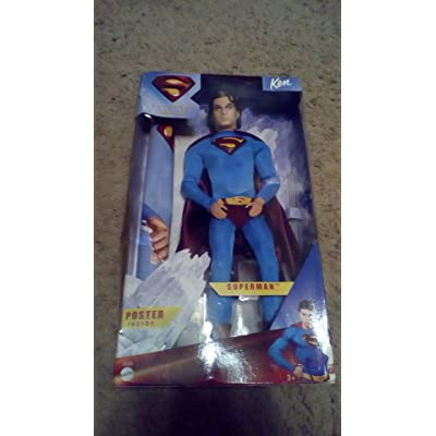 Barbie Collector Superman Returns Superman Doll: Toys & Games