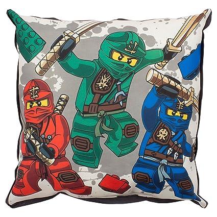 Lego Ninjago Guerrero Lona Cojín: Amazon.es: Hogar