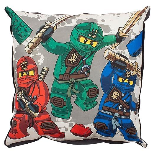 Cojín de lienzo para el guerrero Lego Ninjago: Amazon.es: Hogar