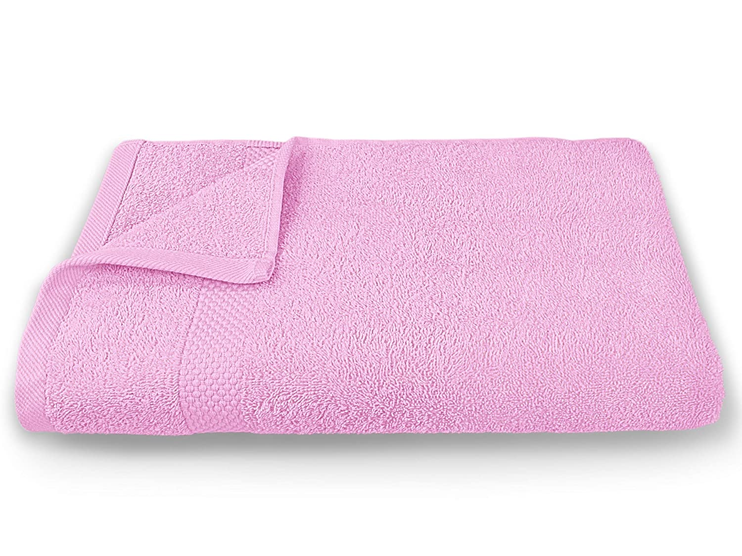 7686ed0a357fd Incredibly soft organic towel., pink, 1 Liegetuch 70 x 200 cm:  Amazon.co.uk: Kitchen & Home
