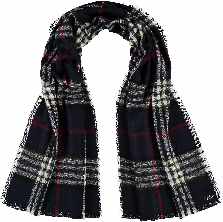 FRAAS karierte Damen-Stola aus Cashmink - Made in Germany - eleganter Karo-Schal - hochwertiger Winter-Schal kariert - stilvolles Plaid mit Muster 631257
