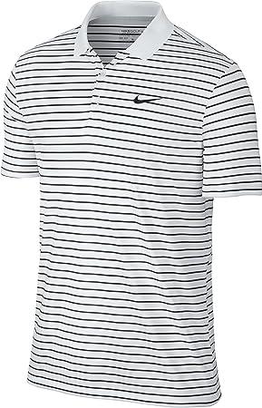 1fe7124a Nike Victory Mini Stripe LC – Men's Short-Sleeved Polo Shirt, Multicoloured  (White