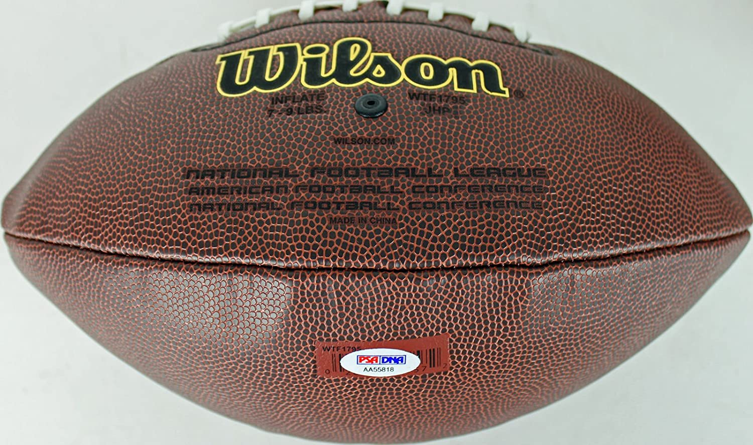 346d4091bb1 Bears Mike Ditka Autographed Signed Wilson NFL Football Autographed Signed  - PSA/DNA Certified at Amazon's Sports Collectibles Store