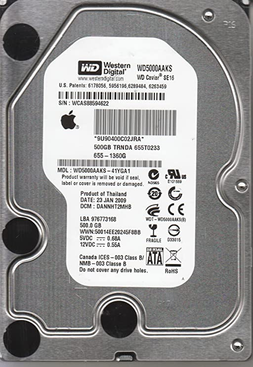 WD5000LMVW-11CKRS0 771859-000 04P WD USB 2.5 PCB