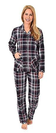 official photos 86338 c8392 NORMANN WÄSCHEFABRIK Damen Flanell Pyjama Schlafanzug kariert –- auch in  Übergrössen - 281 201 95 247