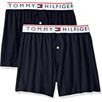 Tommy Hilfiger Men's Underwear Modern Essentials Knit Boxers Blue/Multi Medium