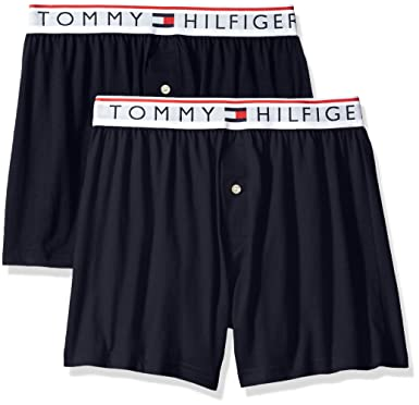 2ae99ecaf63 Tommy Hilfiger Men s Underwear Modern Essentials Knit Boxers at ...