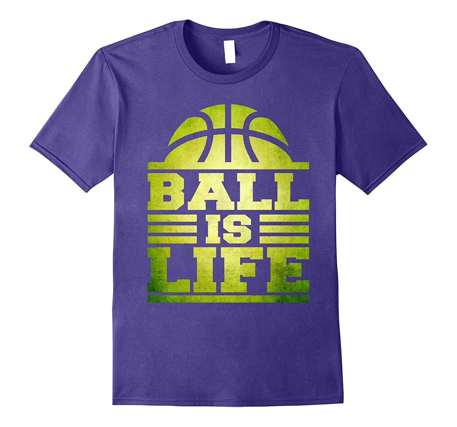 Ball Is Life - Basketball Sports Cool Awesome - T Shirt-Vaci