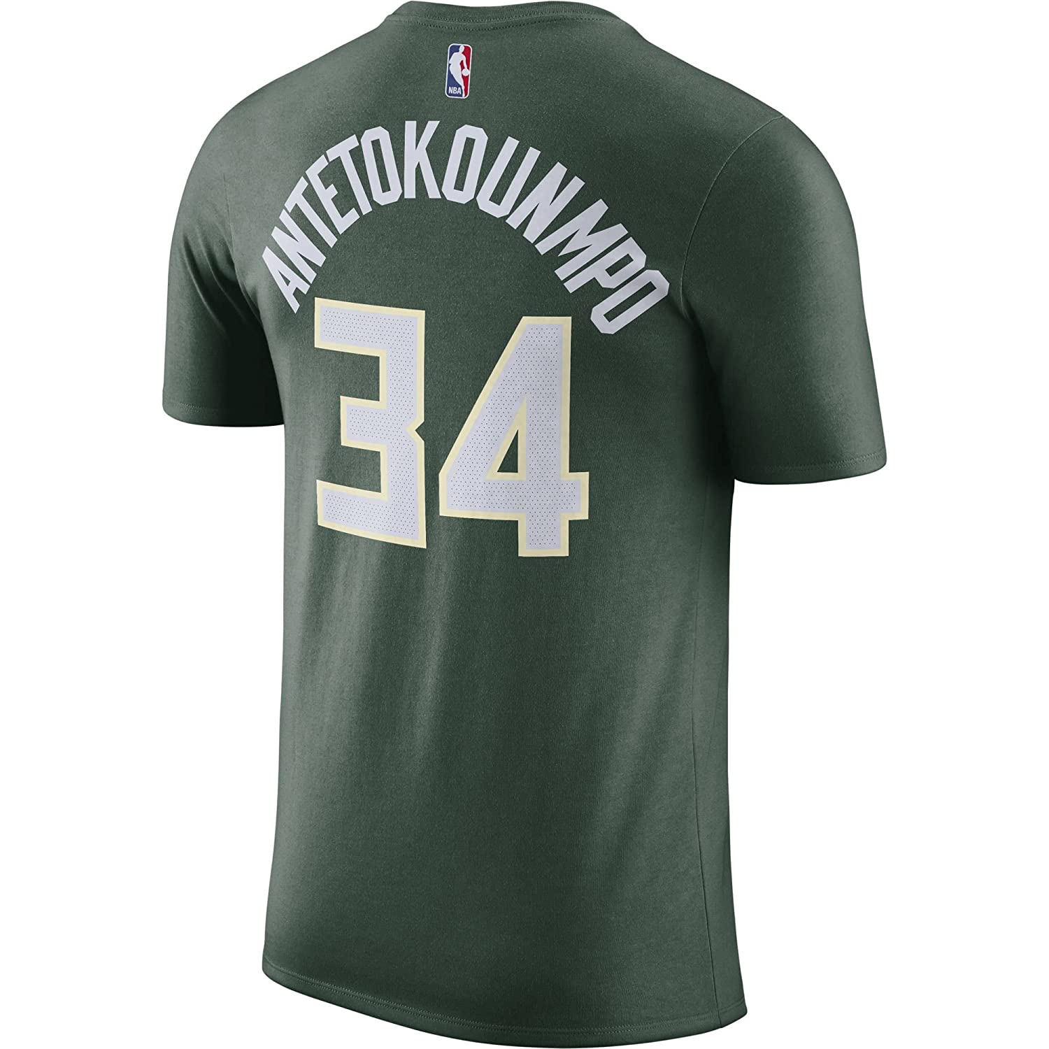 Nike NBA Milwaukee Bucks Giannis Antetokounmpo 2017 2018 Dry N&N Official, Camiseta de Hombre: Amazon.es: Ropa y accesorios