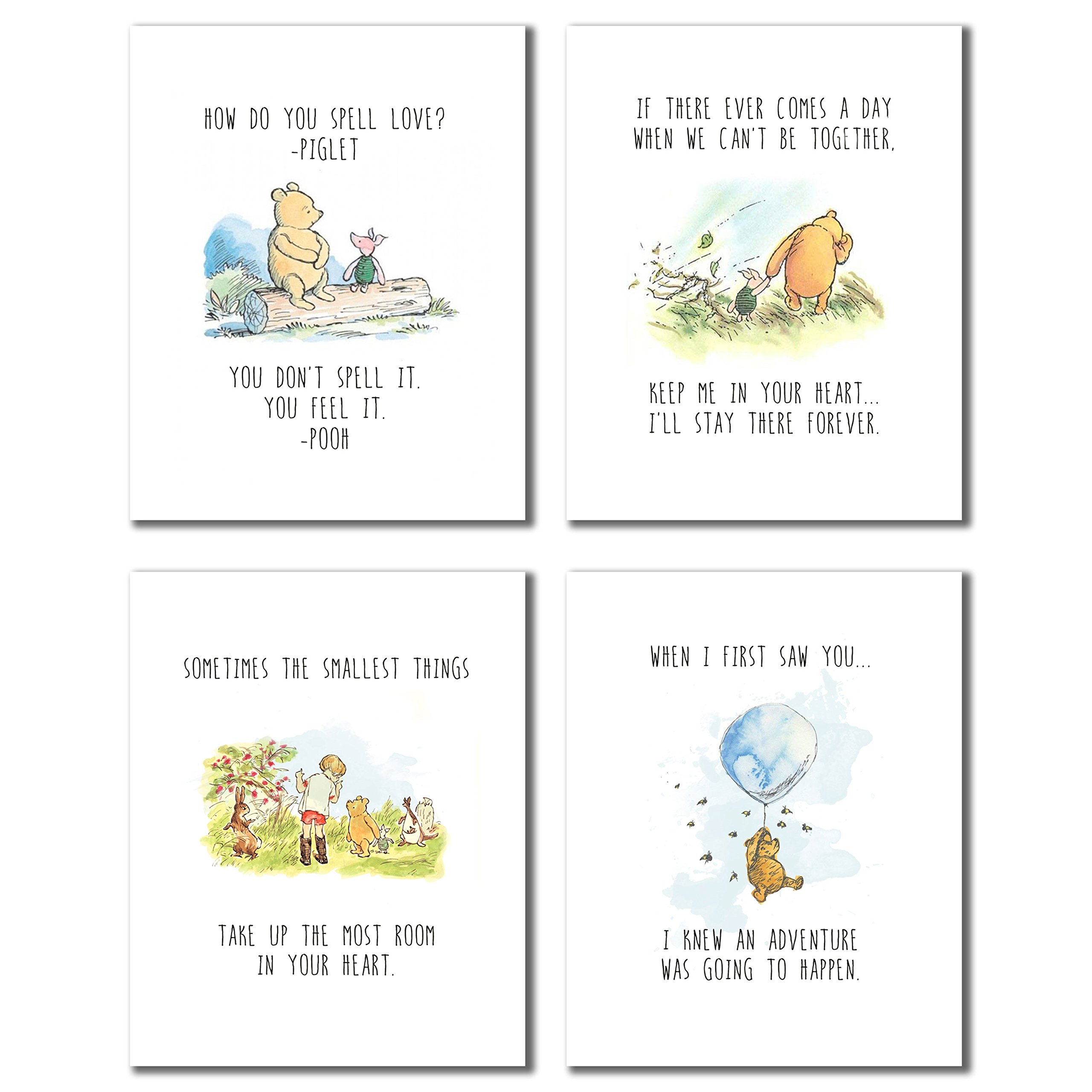 Winnie The Pooh Wall Sticker Amazon Com Sometimes The Smallest Things Take Up The Most