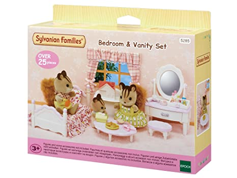 Sylvanian Families 5285 Set Chambre Fille, 5285, Multicolore