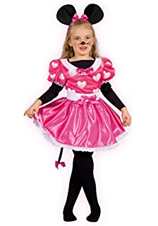 b6ecf4a73dd2 Rubie' s 3888830M, costume in maschera Minnie Mouse Rosa Cupcake per ...