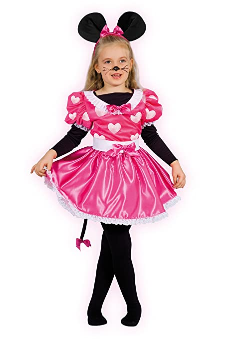Ciao 10798 Topolina Pretty Mouse Costume Bambino Con Make Up 6 8