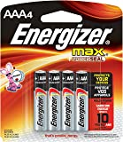 Energizer E92BP-4 Max AAA, 4 Pilas