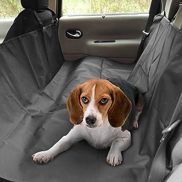 Tapicería de Coche Protector, Migimi Asiento Cat piezas nuevo perro de mascota cubierta de seguridad Cama impermeable para su coche (Negro): Amazon.es: ...