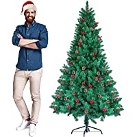 CHORTAU 6ft 2020 Newest Artificial Christmas Tree