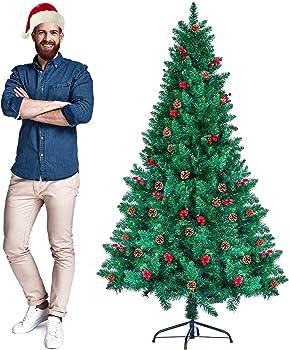 CHORTAU 6ft 2020 Newest Artificial Christmas Tree