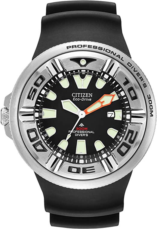 Amazon Com Citizen Men S Eco Drive Promaster Diver Watch With Date Bj8050 08e Citizen Watches