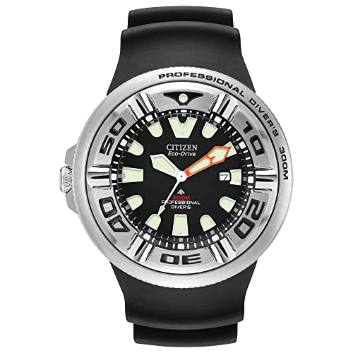 Citizen Mens Eco-Drive Promaster Diver Watch with Date, BJ8050-08E