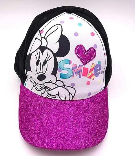 Amazon.com  New Disney Minnie Mouse Girls Hat Baseball Cap Purple ... 92abdeed60