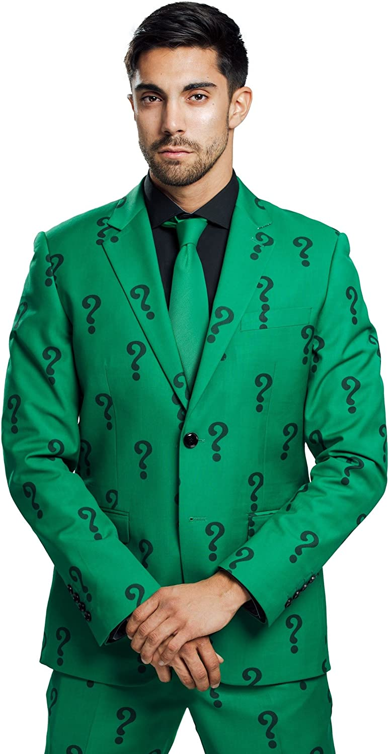 FUN.COM Don't miss the campaign The Riddler Authentic Max 84% OFF Jacket Suit