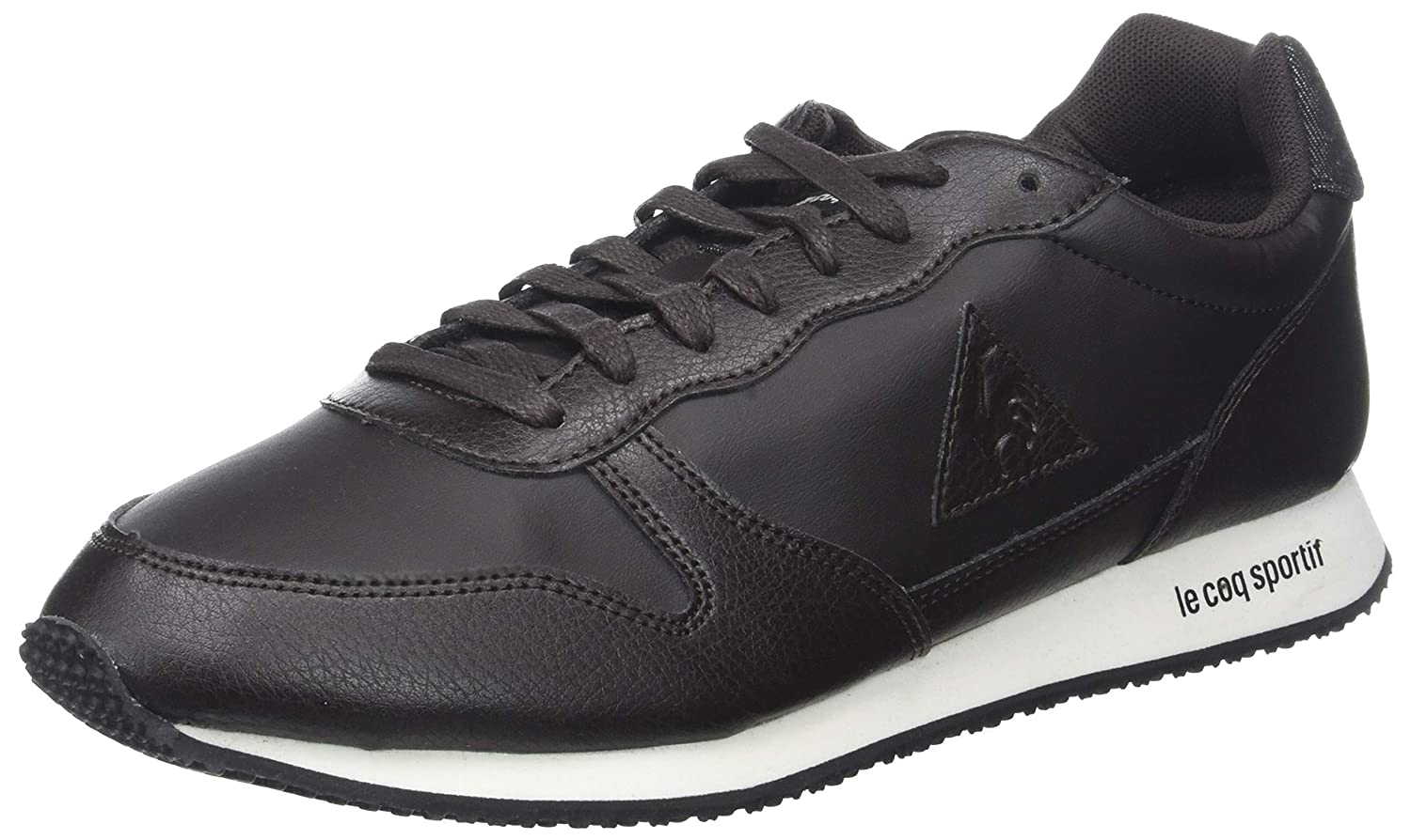 TALLA 43 EU. Le Coq Sportif Alpha Winter Craft Reglisse/Black, Zapatillas para Hombre