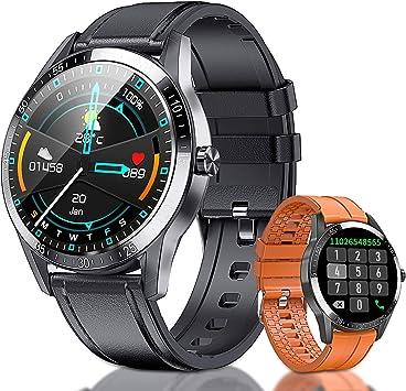 AOYODKG Smartwatch, Reloj Inteligente Mujer Hombre Niños Fitness Tracker Impermeable IP68, Pulsera de Actividad Inteligente Contador de Caloría Monitoreo Pulsómetros, para Android iOS (Negro): Amazon.es: Electrónica