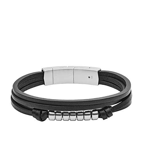 Fossil Men/'s with Magnetic Closure Stainless Bracelet