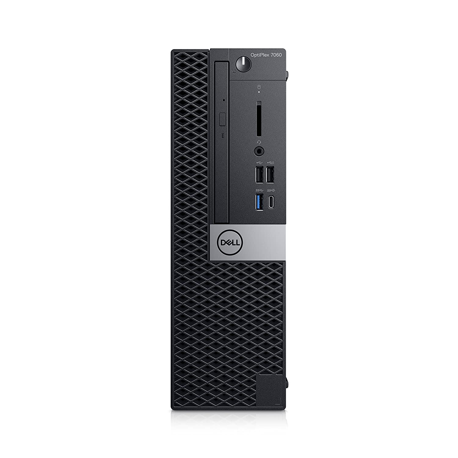 Dell OptiPlex 7060, 3,2 GHz, 8ª Generación de procesadores Intel Core i7, 8 GB, 256 GB, DVD RW, Windows 10 Pro