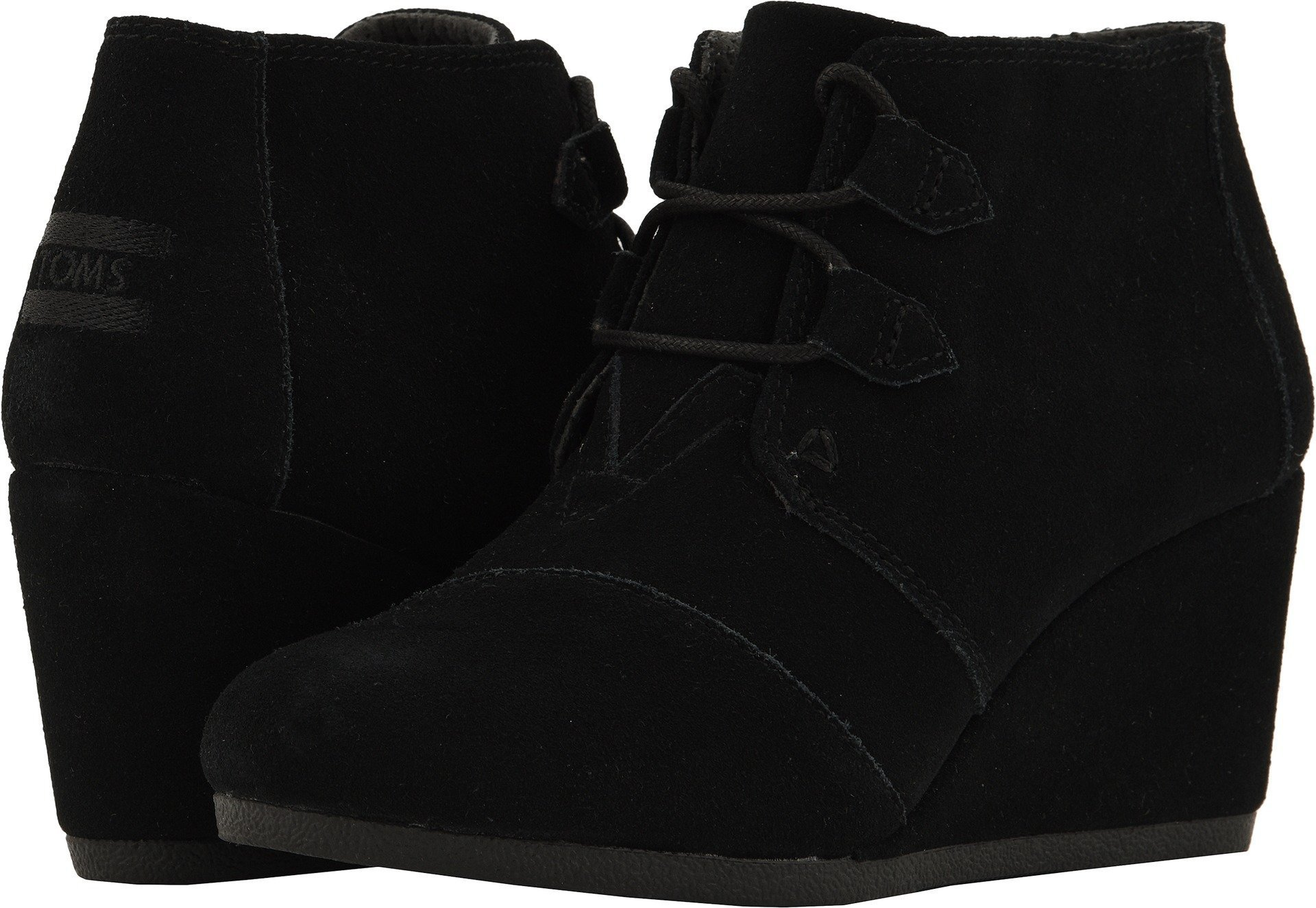 TOMS Women's Kala Bootie, Size: 9 B(M) US, Color: Black Suede