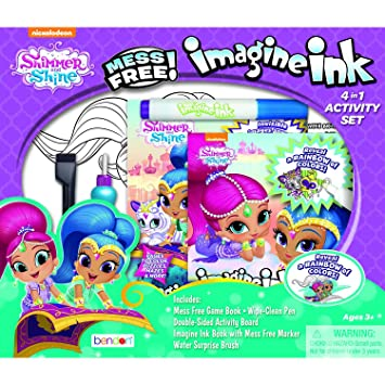 Nickelodeon 41196 Shimmer & Shine Imagine Ink 4-in-1