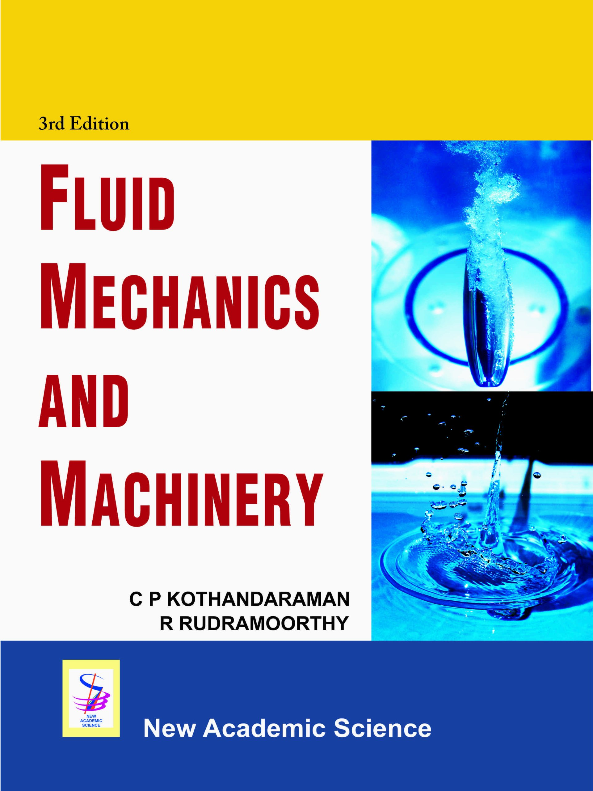 fluid mechanics and machinery c p kothandaraman r rudramoorthy