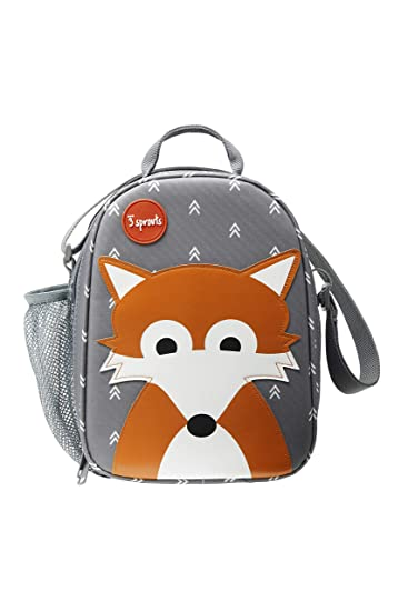 Orange 3 Sprouts Ice Pack Small Reusable Lunch Bag Cooler Ice Pack Kids Accessories Fox