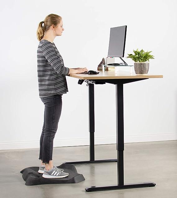 Vivo negro eléctrico Stand Up marco de escritorio estación de ...