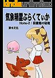気象精霊ぷらくてぃか Note-2: 図書館の秘境 気象精霊記
