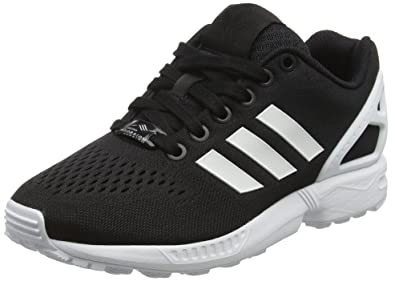 Adidas ZX Flux Em, Baskets Basses Mixte Adulte, Noir FTWR White/Core Black