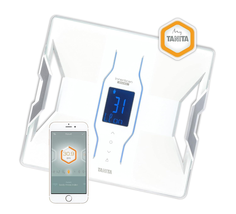 Tanita RD-953 Bluetooth 4 Low Energy - Báscula de análisis de composición corporal con tecnología médica, color blanco: Amazon.es: Salud y cuidado personal