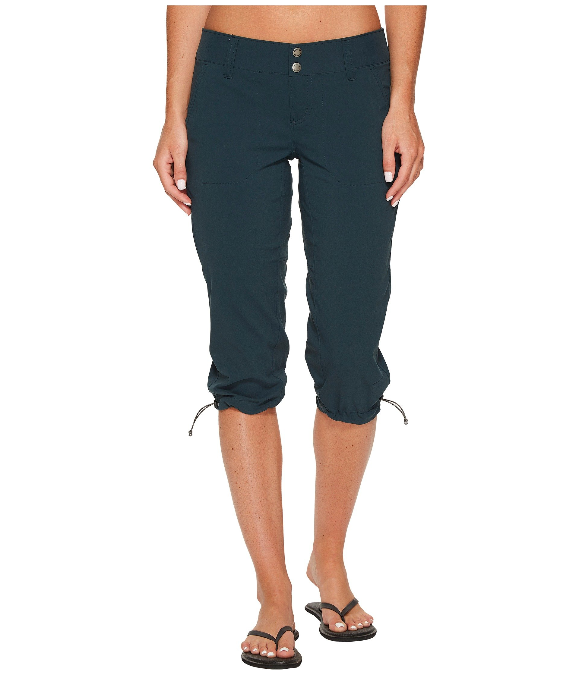 Columbia Women's Saturday Trail ii Knee Pants, Night Shadow, Size 10 x 18 by Columbia